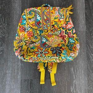 Vera Bradley Double Zip Backpack NWT